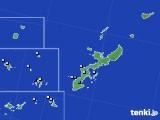 沖縄県のアメダス実況(降水量)(2016年06月06日)