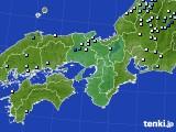 2016年06月09日の近畿地方のアメダス(降水量)