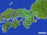 2016年06月12日の近畿地方のアメダス(降水量)
