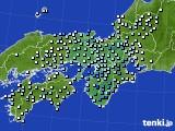2016年06月16日の近畿地方のアメダス(降水量)