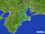 2016年06月18日の三重県のアメダス(気温)