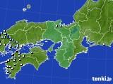 2016年06月20日の近畿地方のアメダス(降水量)