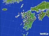 九州地方のアメダス実況(降水量)(2016年06月25日)