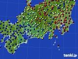 東海地方のアメダス実況(日照時間)(2016年06月27日)