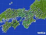 2016年06月29日の近畿地方のアメダス(降水量)