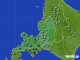 2016年07月02日の道央のアメダス(降水量)