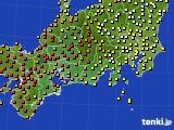 東海地方のアメダス実況(気温)(2016年07月05日)