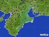 2016年07月05日の三重県のアメダス(気温)