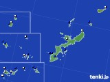 沖縄県のアメダス実況(風向・風速)(2016年07月05日)