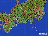 アメダス実況(気温)(2016年07月30日)