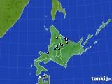 北海道地方のアメダス実況(降水量)(2016年07月31日)