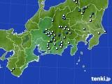 東海地方のアメダス実況(降水量)(2016年08月01日)