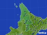道北のアメダス実況(降水量)(2016年08月01日)