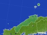島根県のアメダス実況(降水量)(2016年08月03日)