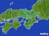 2016年08月06日の近畿地方のアメダス(降水量)