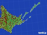 アメダス実況(気温)(2016年08月07日)