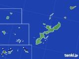 2016年08月10日の沖縄県のアメダス(降水量)