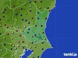 茨城県のアメダス実況(日照時間)(2016年08月11日)
