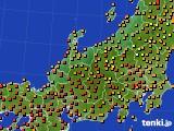 アメダス実況(気温)(2016年08月11日)