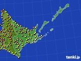 アメダス実況(気温)(2016年08月12日)