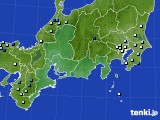 2016年08月16日の東海地方のアメダス(降水量)