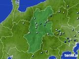 2016年08月18日の長野県のアメダス(降水量)