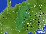 2016年08月20日の長野県のアメダス(降水量)