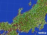 アメダス実況(気温)(2016年08月22日)