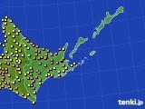アメダス実況(気温)(2016年08月23日)