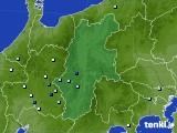 2016年08月24日の長野県のアメダス(降水量)