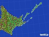 アメダス実況(気温)(2016年08月24日)