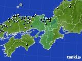 2016年08月26日の近畿地方のアメダス(降水量)