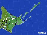 道東のアメダス実況(降水量)(2016年08月26日)