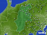 2016年08月27日の長野県のアメダス(降水量)
