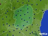 2016年08月28日の栃木県のアメダス(日照時間)