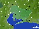 2016年08月28日の愛知県のアメダス(風向・風速)