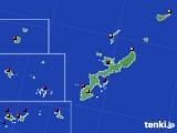 沖縄県のアメダス実況(日照時間)(2016年08月30日)