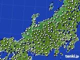 北陸地方のアメダス実況(風向・風速)(2016年08月30日)