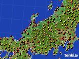 アメダス実況(気温)(2016年08月31日)