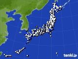 アメダス実況(風向・風速)(2016年08月31日)