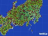 関東・甲信地方のアメダス実況(日照時間)(2016年09月02日)