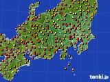 2016年09月02日の関東・甲信地方のアメダス(気温)