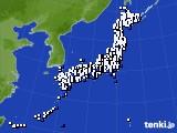 アメダス実況(風向・風速)(2016年09月02日)