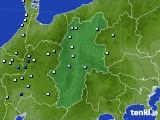 2016年09月05日の長野県のアメダス(降水量)