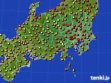 2016年09月05日の関東・甲信地方のアメダス(気温)