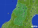 2016年09月06日の山形県のアメダス(風向・風速)