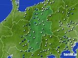 2016年09月08日の長野県のアメダス(降水量)