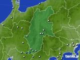2016年09月13日の長野県のアメダス(降水量)