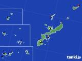 2016年09月13日の沖縄県のアメダス(日照時間)
