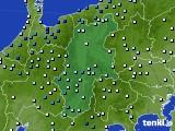 2016年09月18日の長野県のアメダス(降水量)